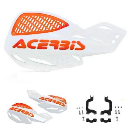 Acerbis Uniko Hanguard White Orange